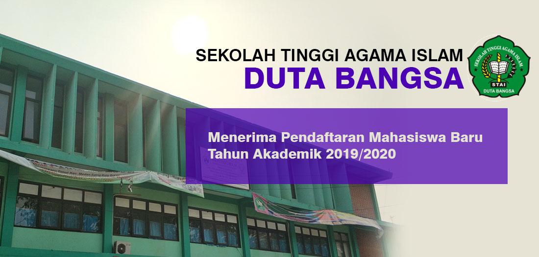 STAI Duta Bangsa Menerima Pendaftaran Mahasiswa Baru Tahun Akademik 2019/2020